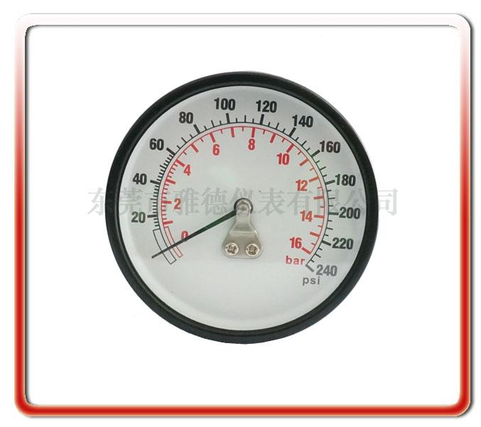 60MM軸向防震壓力表