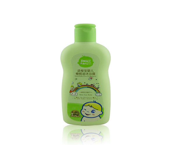 適櫻寶 嬰兒橄欖油沐浴露200ml~0類