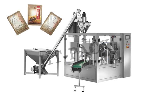 給袋式粉末包裝機 全自動五谷雜糧粉劑包裝機