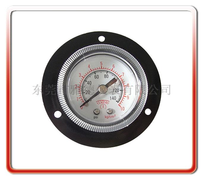 40mm軸向帶邊氣壓表