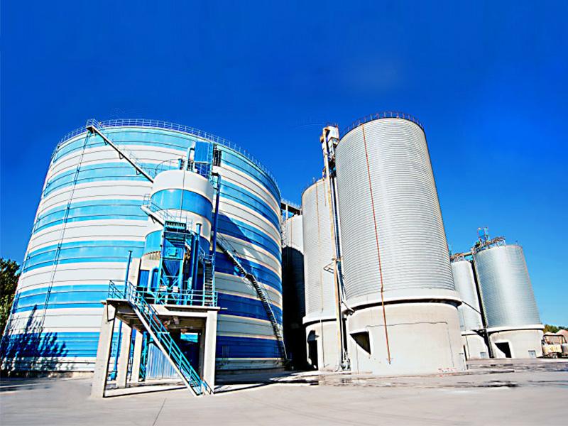 天龍新型建材7萬立方鋼板庫工程