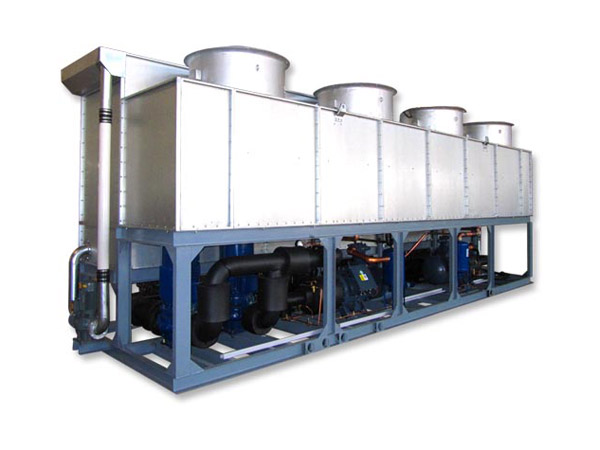 集成化板片蒸發冷凝式冷水機組