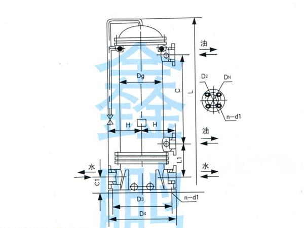 GLL型立式冷卻器