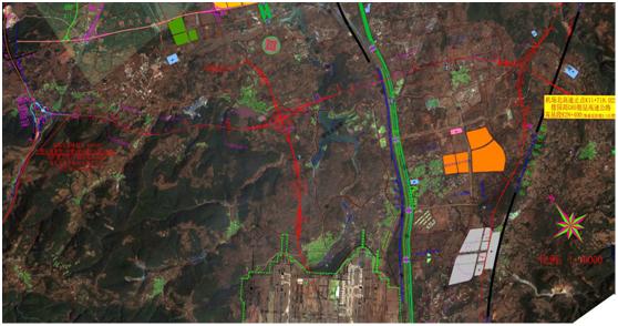 滇中新區機場北高速公路工程