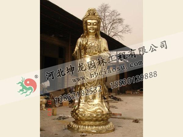佛像銅雕014