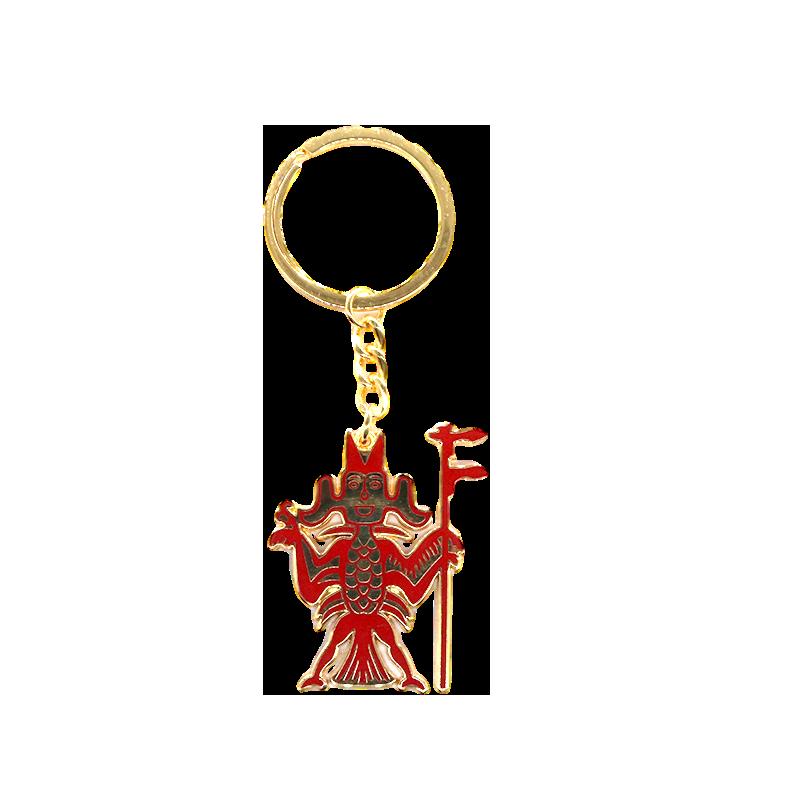 双鱼钥匙扣