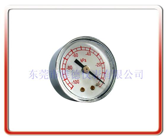 40MM吸痰器專用真空負壓表