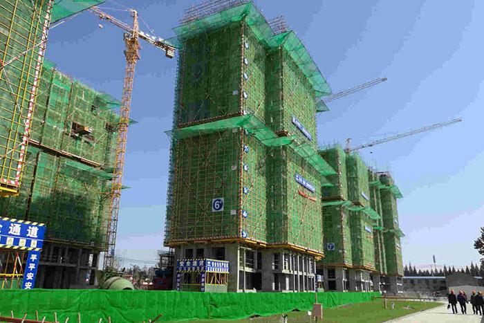 安徽省濉溪縣北關區棚戶區改造1#~12#樓工程