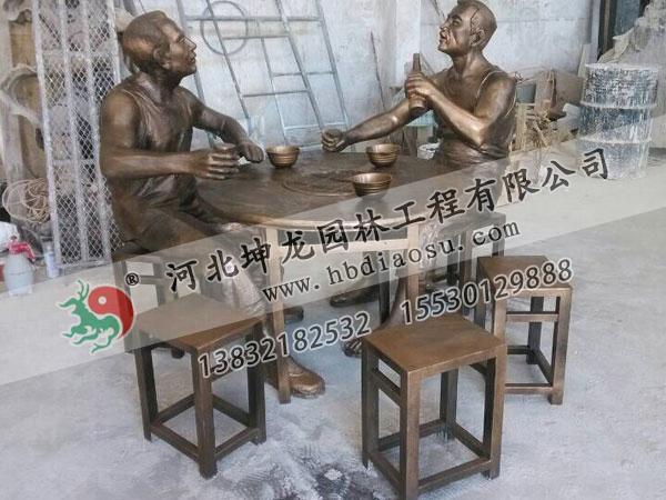 玻璃鋼人物雕塑029