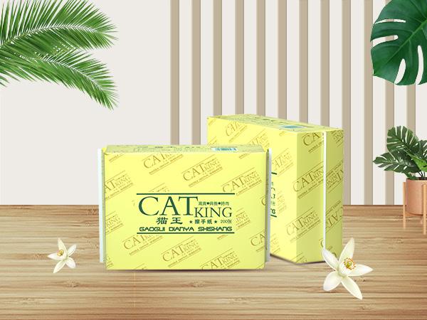 貓王200張擦手紙 (M55)