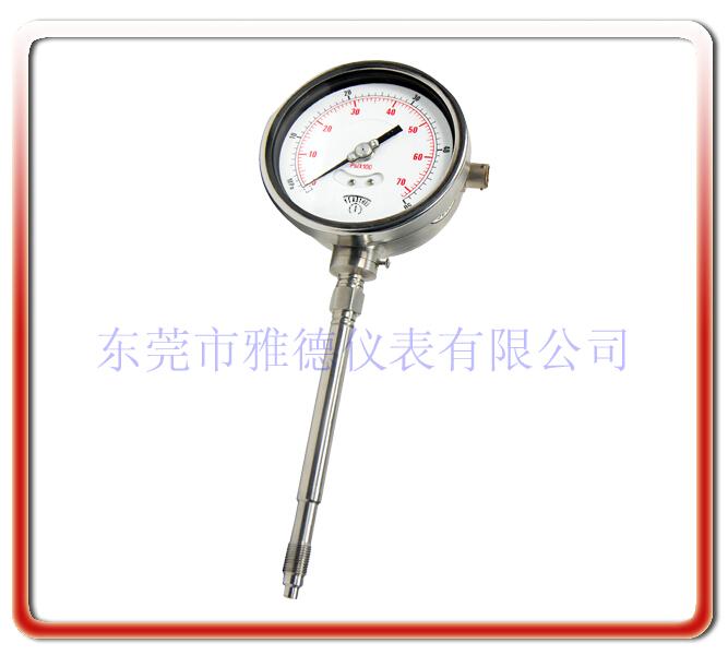 剛性桿帶變送輸出熔體壓力表