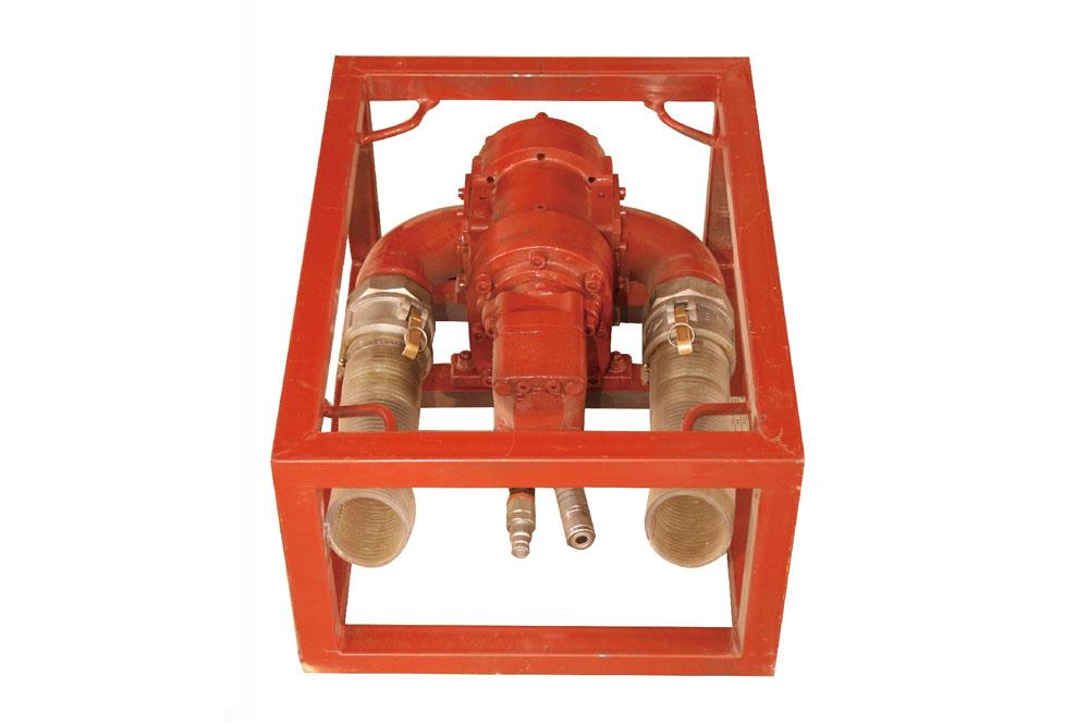 YZB-27防爆液壓自吸抽油泵