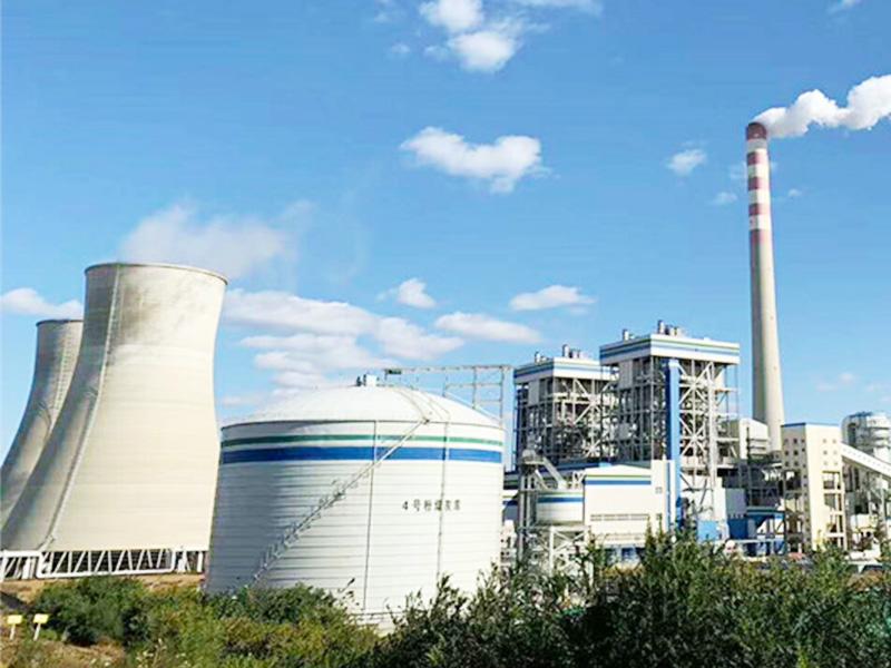 國能集團大連鋼板倉工程