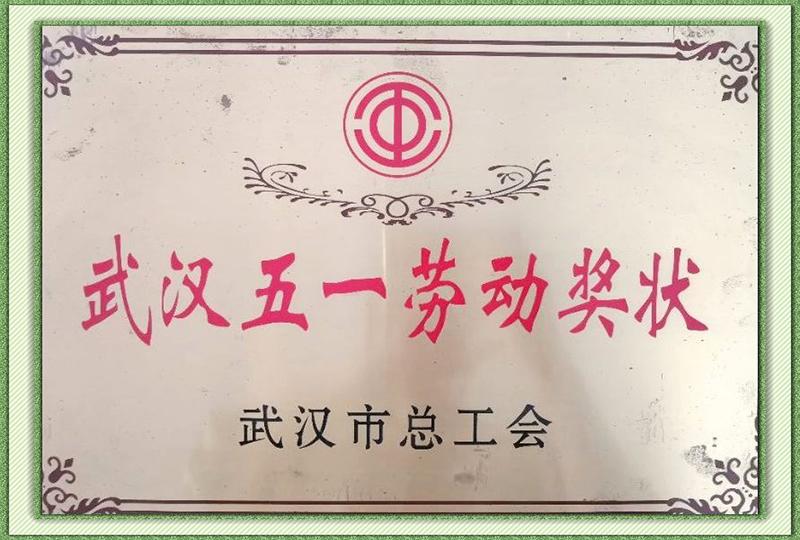 武漢五一勞動獎狀