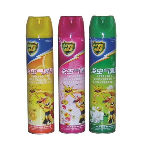 金盾 醇基配方殺蟲劑(檸檬,茉莉,百花)