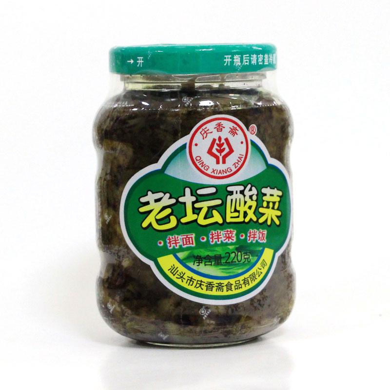 老壇酸菜(220克)