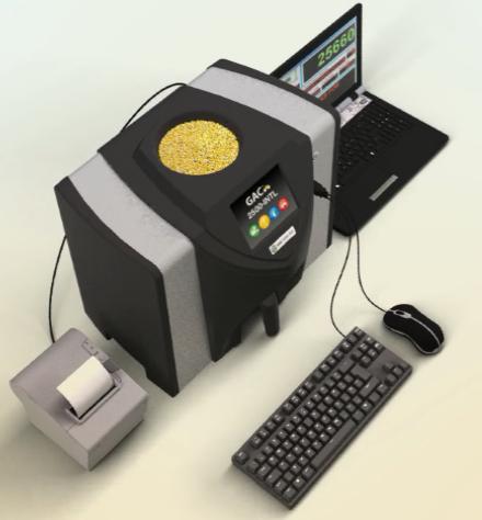 GAC-2500高精度谷物水分容重儀——玉米收儲的好幫手