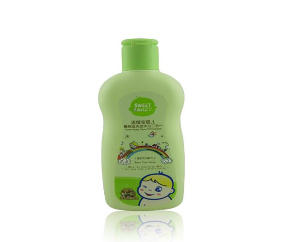 適櫻寶 嬰兒橄欖油洗發沐浴露二合一200ml~0類