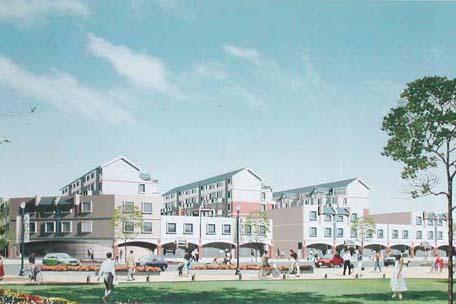 曹妃甸國際生態城科教城教職工公寓項目:預計開發100萬平米,2010年8月底達到入住條件