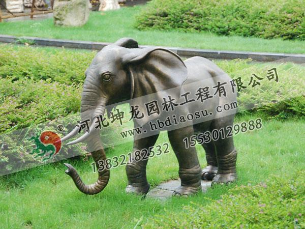 動物銅雕023