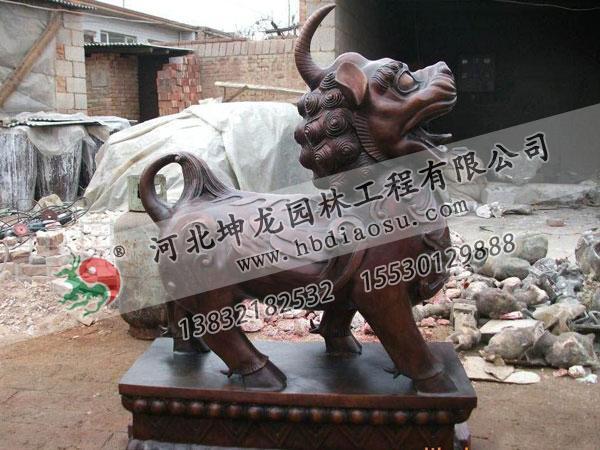 動物銅雕019