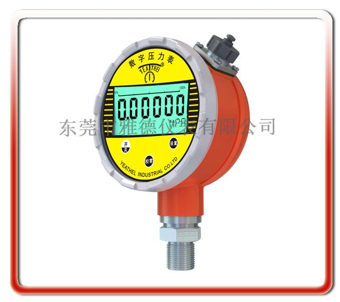 高配置精密級電池式峰值型數字壓力表