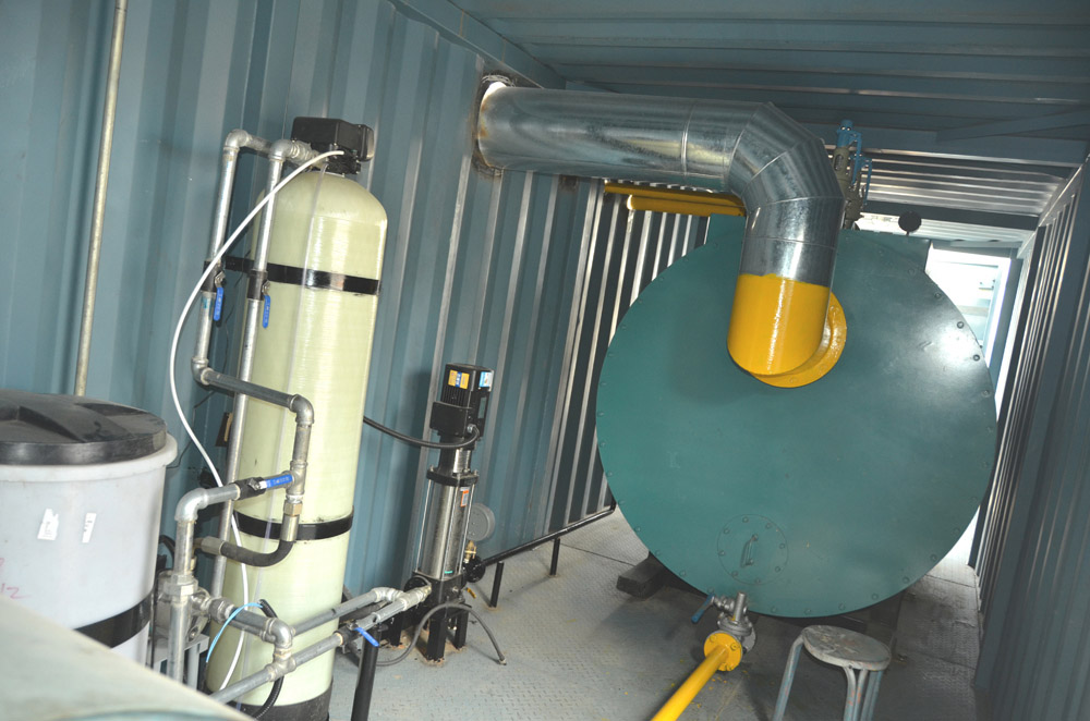 石油钻机防冻加热装置